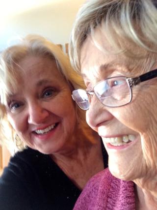 Mom and Suzy Selfie